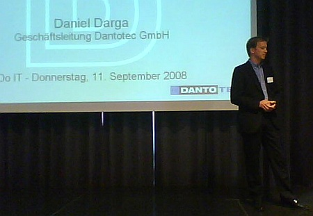Do IT Innsbruck 2008, Daniel Darga, Dantotec GmbH